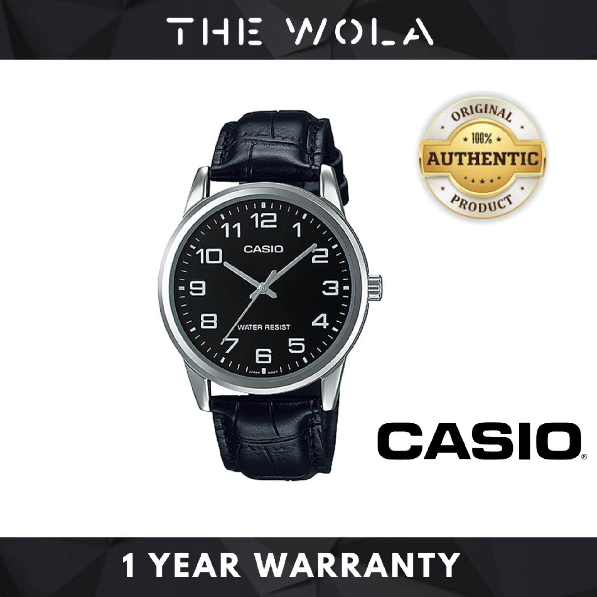 [100% Authentic] Casio Watch For Men Jam Tangan Lelaki MTP-V001L-1BUDF for man (1 Year Warranty) Malaysia