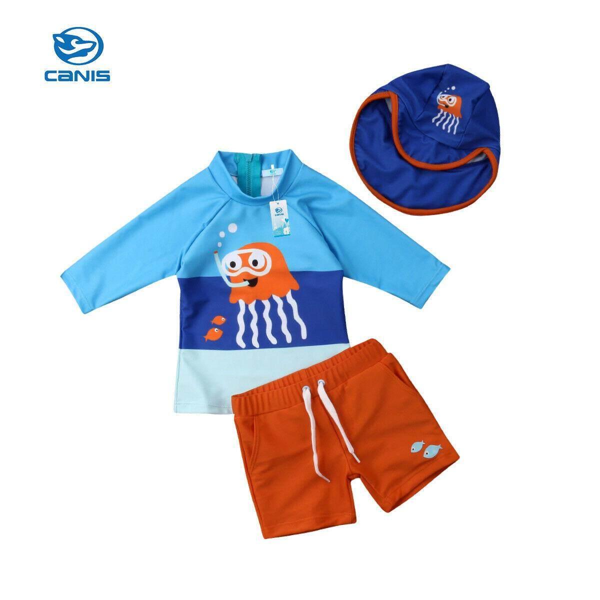 c7420ca69 Toddler Kids Baby Boys Bikini Set Swimwear Swimsuit Bathing Surfing Suit UV  50+