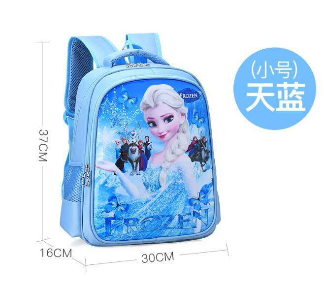 Girl school bag Childrens school bag Frozen bag Cartoon bag Waterproof bag Captain Sophia school bag