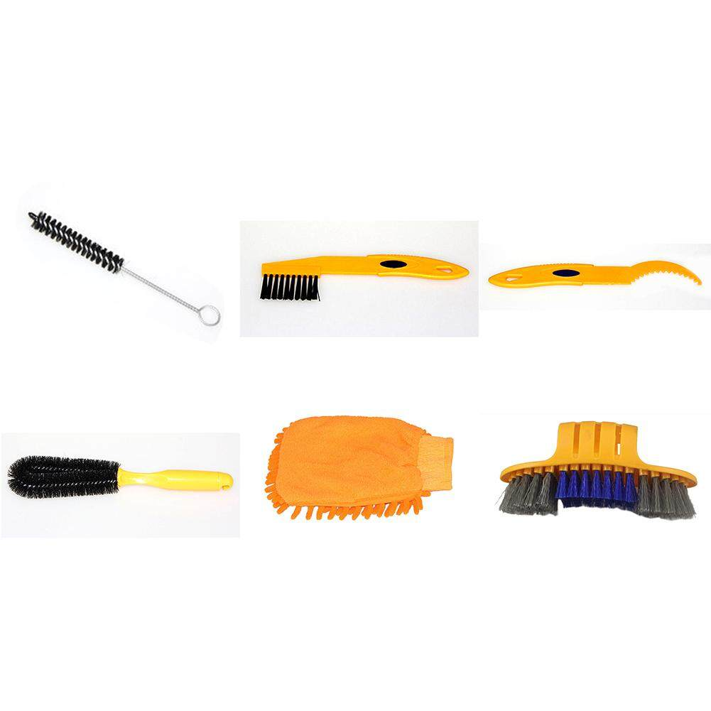 Bicycle Cleaing Tool Kits Bike Chain Cleaner Tire Brushes Road Mountain Bike Cleaning Gloves Highly Effective Cleaners Sets`