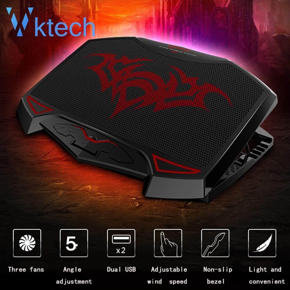 3 High Speed Fan Adjustable Radiator Dual USB Port Laptop Cooling Pad