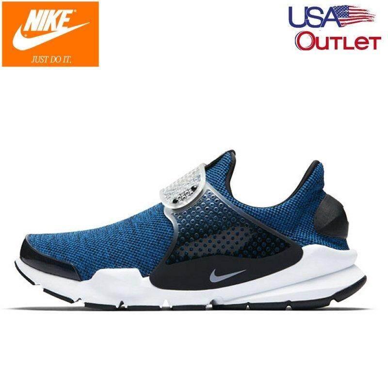 48b18be17de76 Nike Men's Sock Dart SE 911404-401 Battle Blue/Black/White Shoes US 10, 11  Size