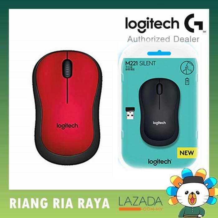 Logitech M221 Silent Wireless Mouse Malaysia