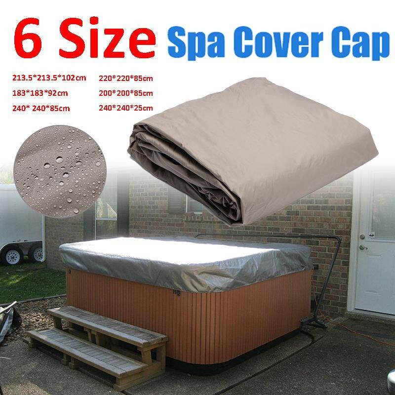 213.5*213.5*102cm Spa Tub Protective Dust Cover With Drawing String