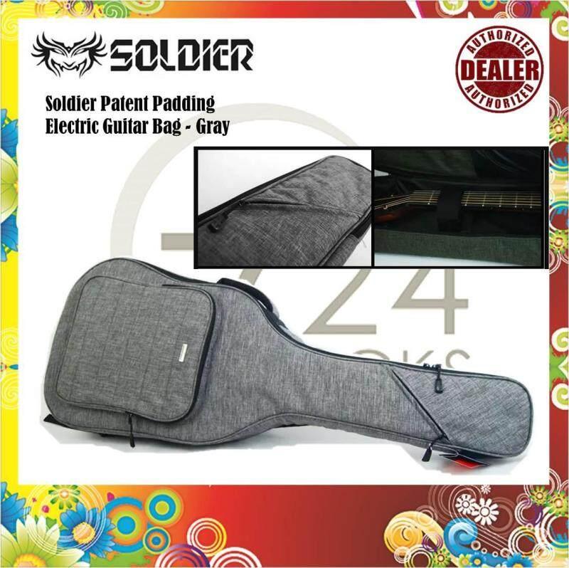 Soldier 300 Series patent padding Electric Guitar Gigbag / Guitar Bag Malaysia