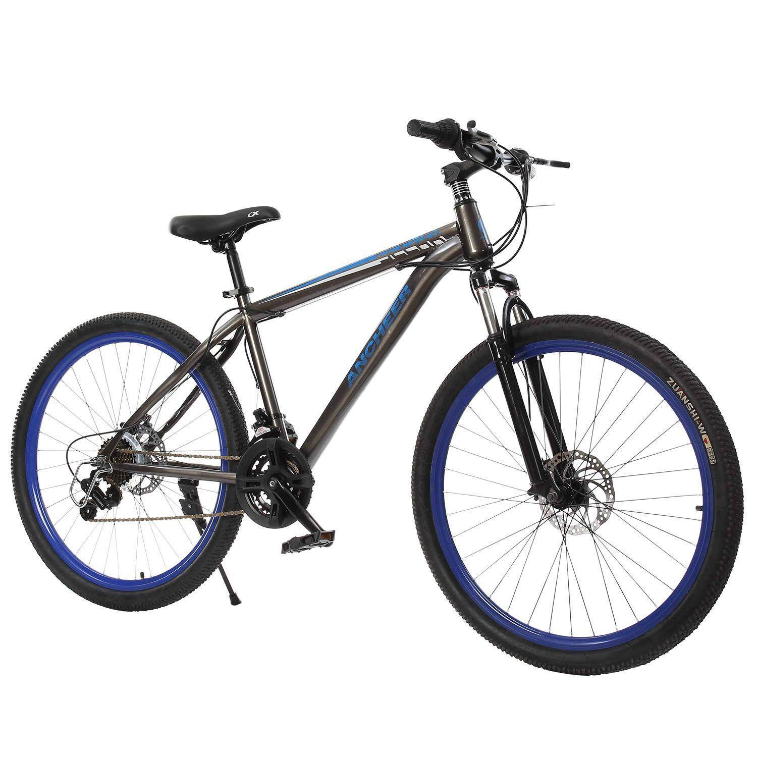 Supercart 27.5 Inch 21 Speed Hybrid Bike Men Seeker Mountain Bike By Supercart.