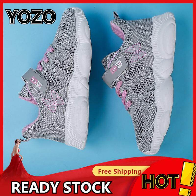 a09e0c7917d YOZO Lightweight Sport Shoes For Kids Girls Sneakers Children'S Trainers  Running Shoes For Toddlers Little Big Kids Breathable Running Shoes Kids ...