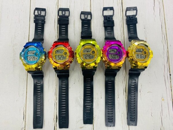**LAZCHOICE** ROINBOW Stylish Fashion Sport Watch For Unisex (GREAT QUALITY) FAST SHIPPING Malaysia