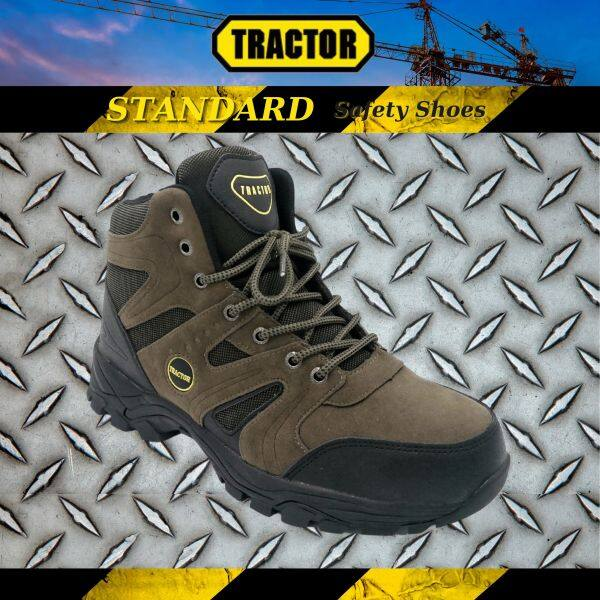 Tractor Mens Standard Industrial Safety Shoes Steel Toe Cap Mid Steel Sole Footwear 991