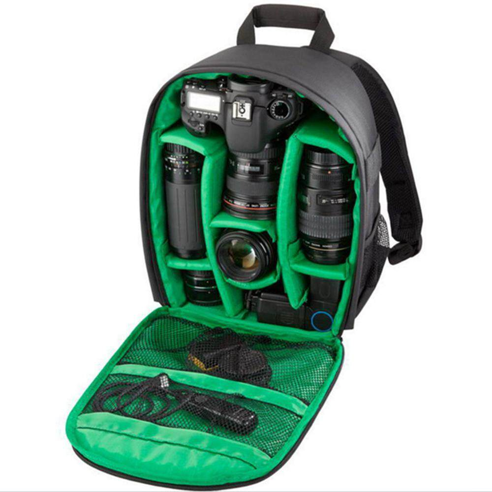 1963f032b580 Aolvo Camera Case Waterproof Shockproof Camera Backpack Bag for DSLR,  Mirrorless Camera, Flash or Other Accessories,33*25*12.5cm