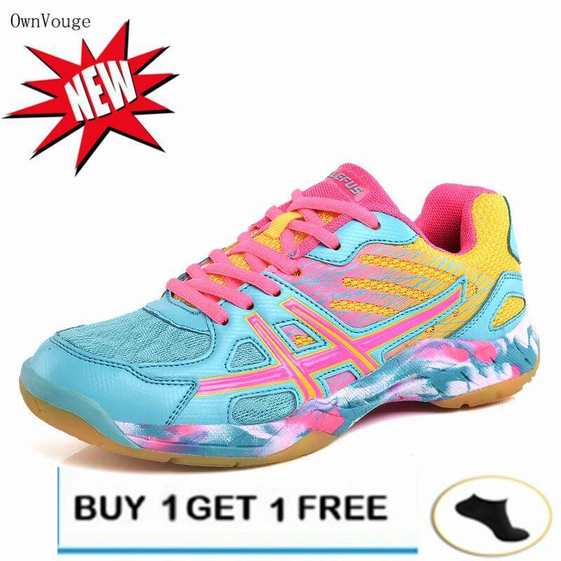 Ownvouge New Indoor Court Badminton Tennis Shoes Sneakers Wide Safety Training Shoe (read Stock) By Front Line Store.