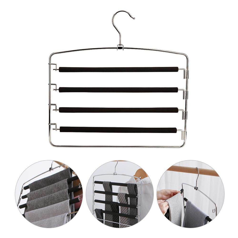 Pants Trousers Hanging Clothes Hanger home 5 Layers Space-Saver room Hot-sale