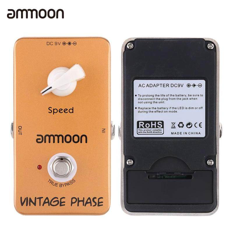 ammoon AP-03 Vintage Phase Phaser Guitar Effect Pedal True Bypass Malaysia