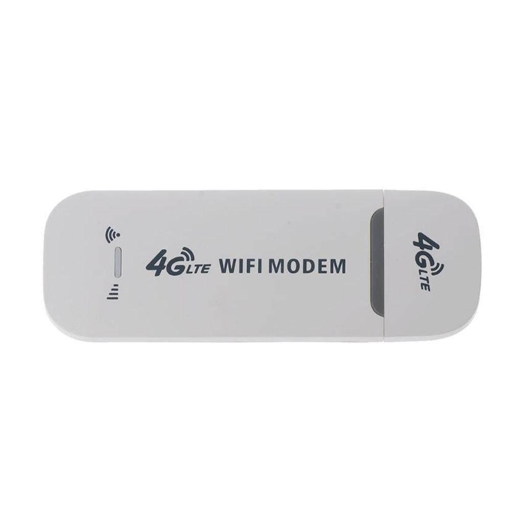 Giá 4G LTE USB Trắng Nhỏ Dongle 150Mbps Mạng Wifi Modem Đa Năng Mở Khóa