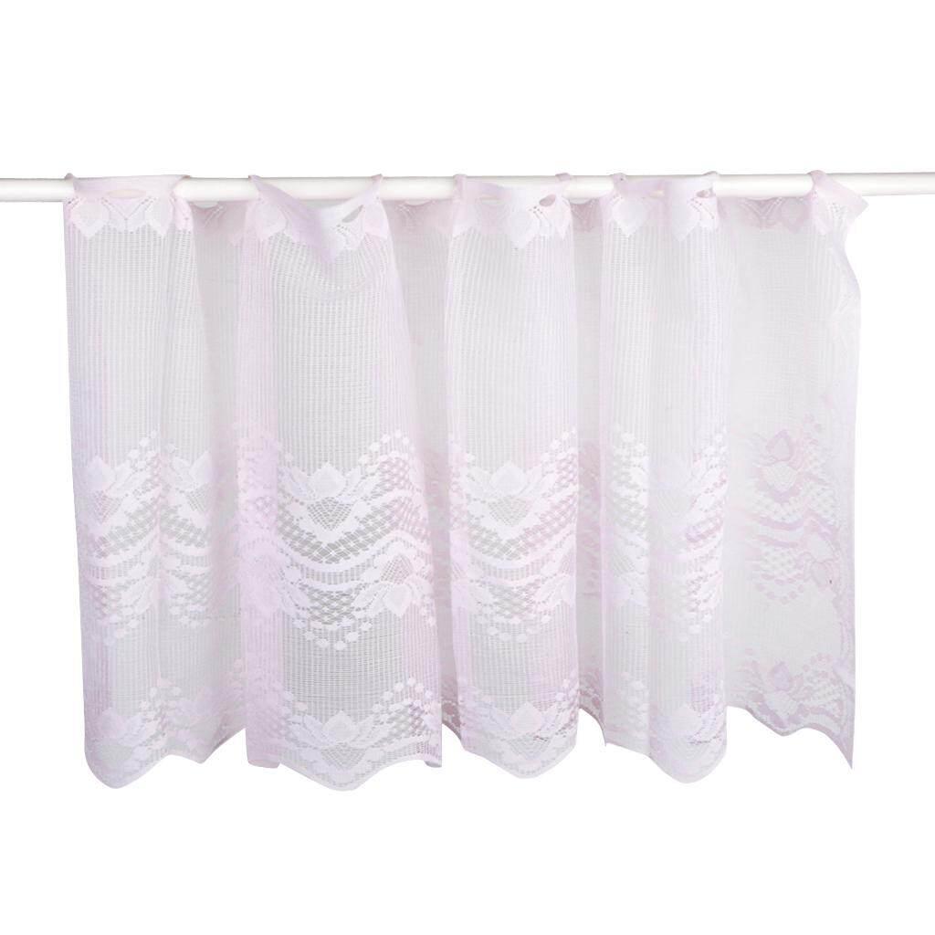BolehDeals Elegant Short Lace Window Curtain Sheer Panel Gauze Valance 50x160cm