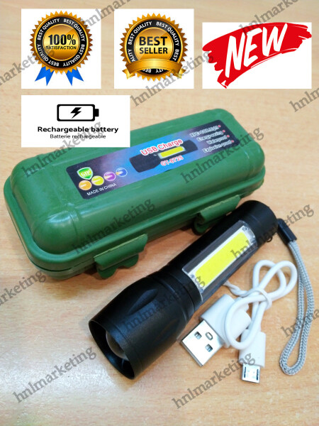 *EXTRA BRIGHT* 3 MODE MINI RECHARGEABLE USB TORCH LIGHT