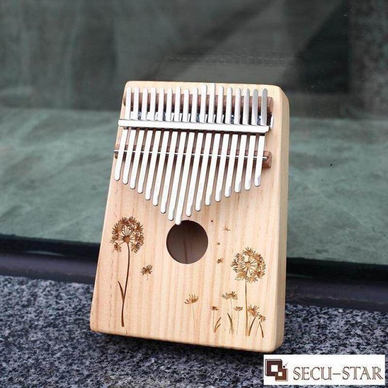 SECU-STAR 17 Key Wooden Kalimba Thumb Piano Finger Piano Percussion Instrument with Accessories Malaysia