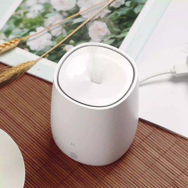 HL Humidifier Portable aromatherapy diffuser air humidifier essential oil diffuser silent mist maker USB interface Mute Atmosphere Warm Simplicity Aroma Diffuser Small Candlelight Singapore
