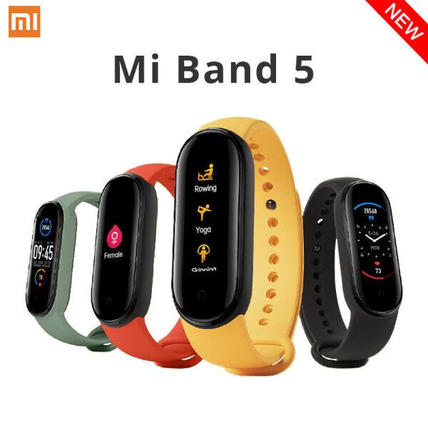 Đồng Hồ Thông Minh Xiaomi Mi Band 5 Màn Hình AMOLED 1.1 Vận động Chống Nước Thể Thao Bluetooth - Phiên Bản Quốc Tế và Phiên Bản CN