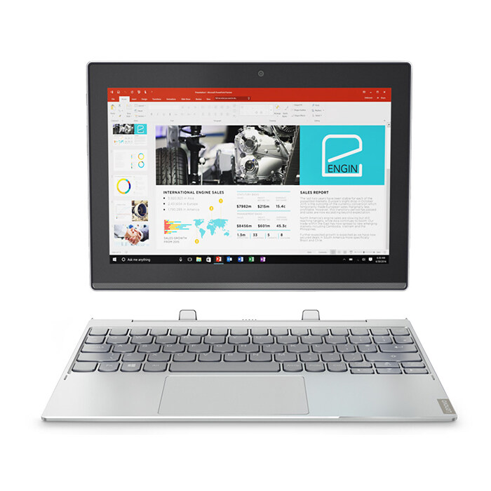 Lenovo Ideapad MIIX330 10IGM-81H300J7MJ Notebook Grey (10.1inch/Intel Celeron/4GB/64GB Emmc/Intel HD) Malaysia