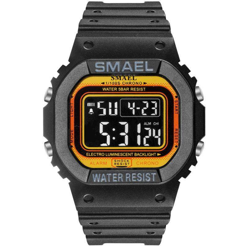 Smale Smael Electronic Watch Calendar Alarm Clock Timing Multifunctional Outdoor Sports Multifunctional Watch By Villers Flagship520.
