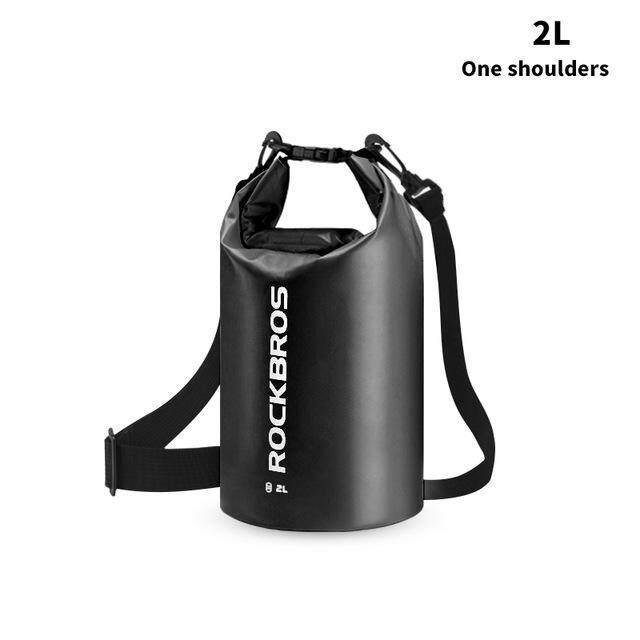Rockbros 2l 5l Ultralight Fashion Design Waterproof Swimming Fitness Bag Fishing Running Gym Sport Men Women Bgas 6 Colors.