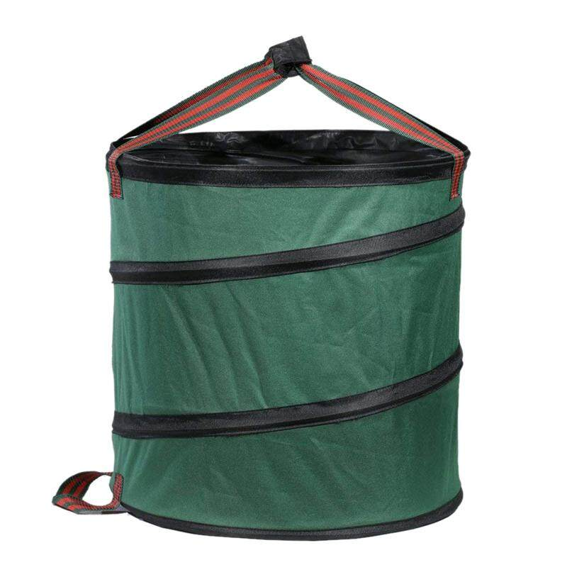 Collapsible Garbage Bin Garden Waste Bag Camping Trash Can Leaf Gardening Bag Laundry Storage Basket