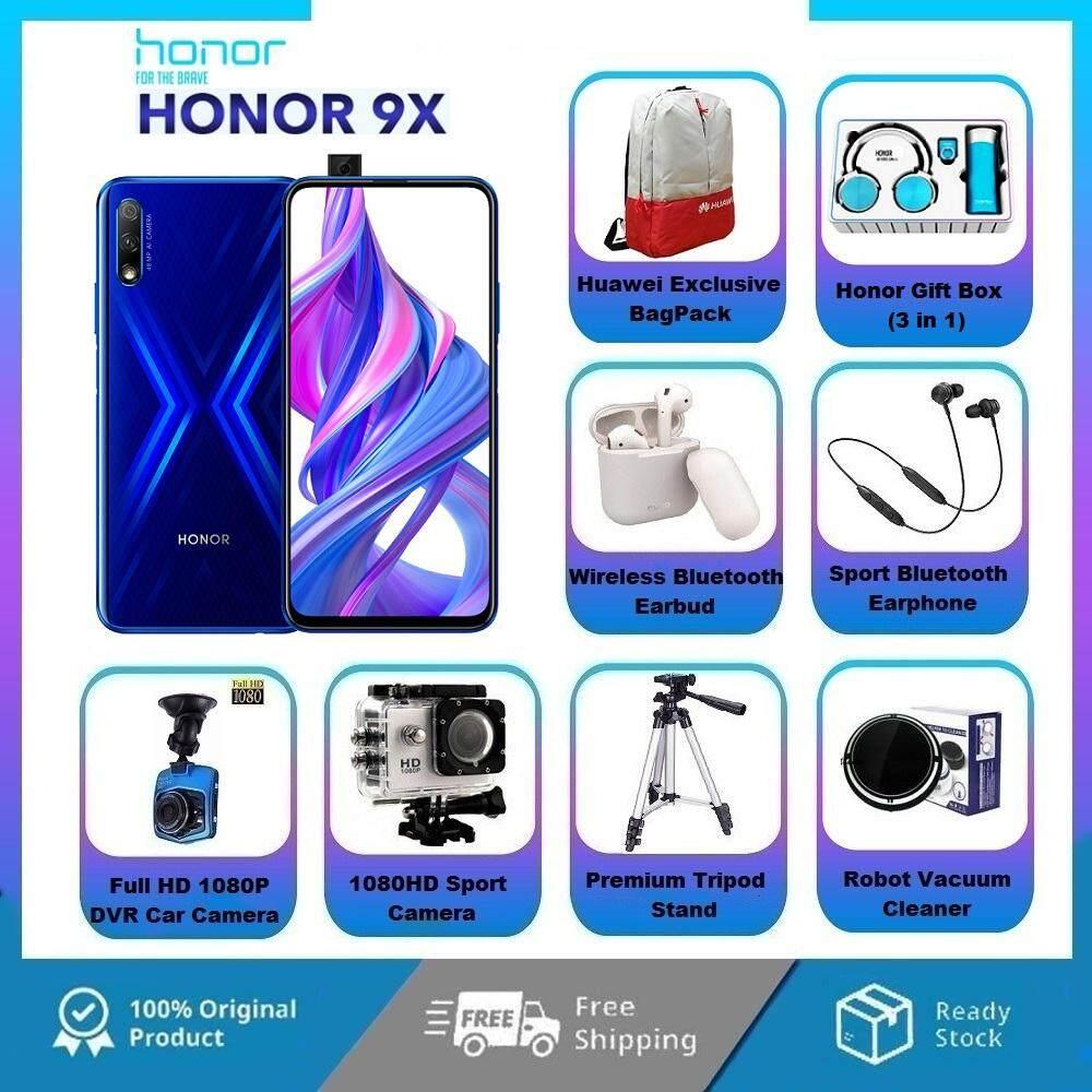 Honor 9X [PRE ORDER ETA 29 November 2019][6GB RAM 128GB]Free Gifts Original Honor Malaysia Set
