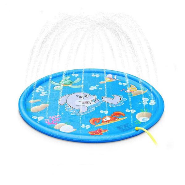 Vòi Xịt Bơm Hơi Đi Lang Thang Có Mây, Thảm Nước Cho Trẻ Em, Tấm Lót Cho Bể Bơi Ngoài Trời Chơi Đồ Chơi