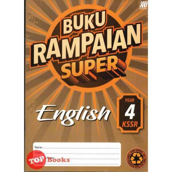 ✚ 68nsveCh [TOPBOOKS Sasbadi] Buku Rampaian Super English Year 4 KSSR Malaysia