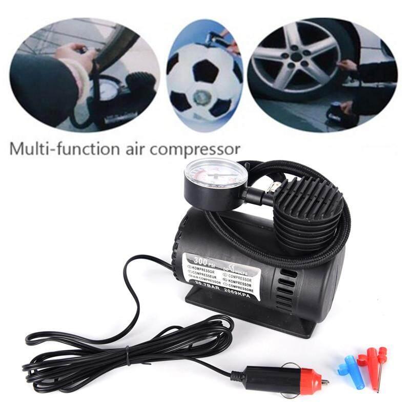 Yua 300PSI 12V Portable Mini Air Compressor Auto Car ElectricTire Air  Inflator Pump