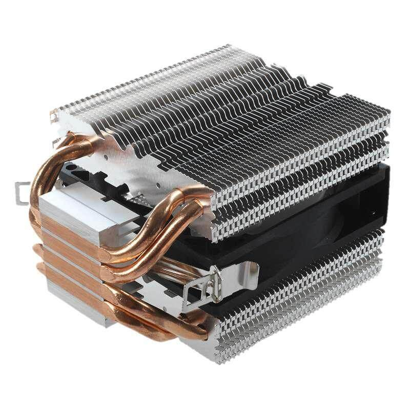 Bảng giá 4 Heatpipe CPU Cooler Heat Sink for Intel LGA 1150 1151 1155 775 1156 AMD New Phong Vũ