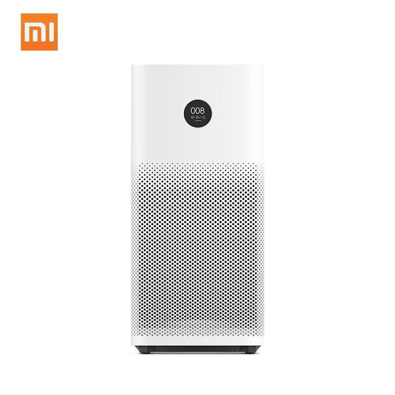 Original Xiao mi Smart Air Purifier 2S OLED Display Mi Home APP Remote Control Energy-saving Smell Smoke Cleaner Home Office Air Purifiers Singapore