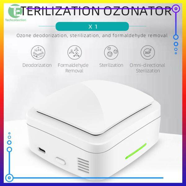 [50% OFF] X1 Mini Ozone Air Purifier USB Rechargeable Car Home Deodorizer Sterilizer Singapore