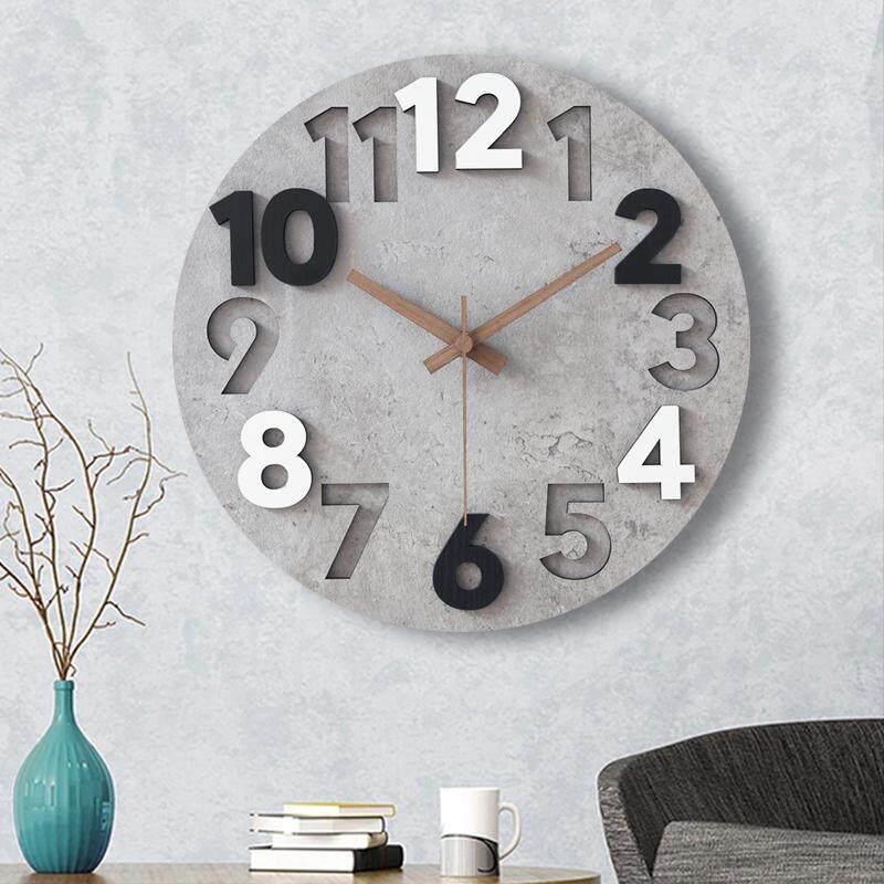 ❤️ Dream Best Simple Modern Home Clock Wall Art Mute Atmosphere Light Luxury Wall Clock Living Room Fashion Wall Charts Creative Clock