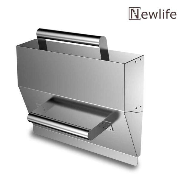 Stainless Steel Wall Plaster Dust Trowel Putty Scraper Concrete Cement Tool