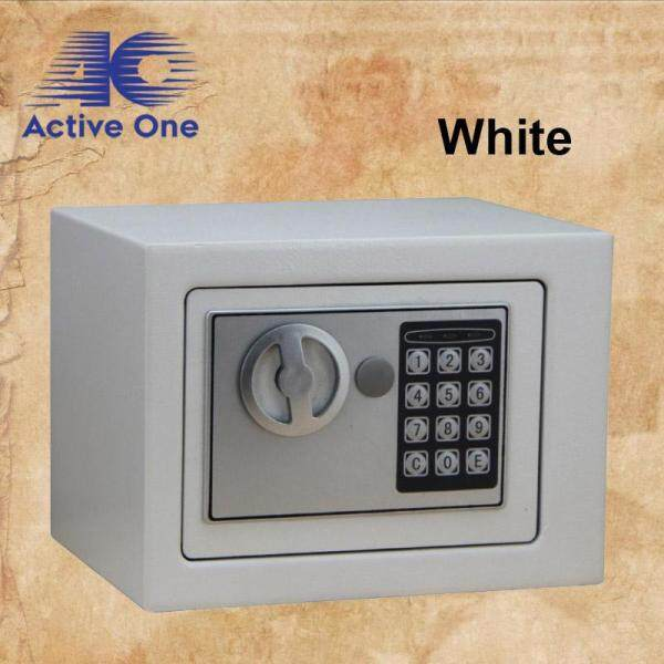 ACTIVEONE Safe Home Mini Safety Box Into The Wall Electronic Password Safe Deposit Box Office Coffer - Fulfilled by ACTIVEONE