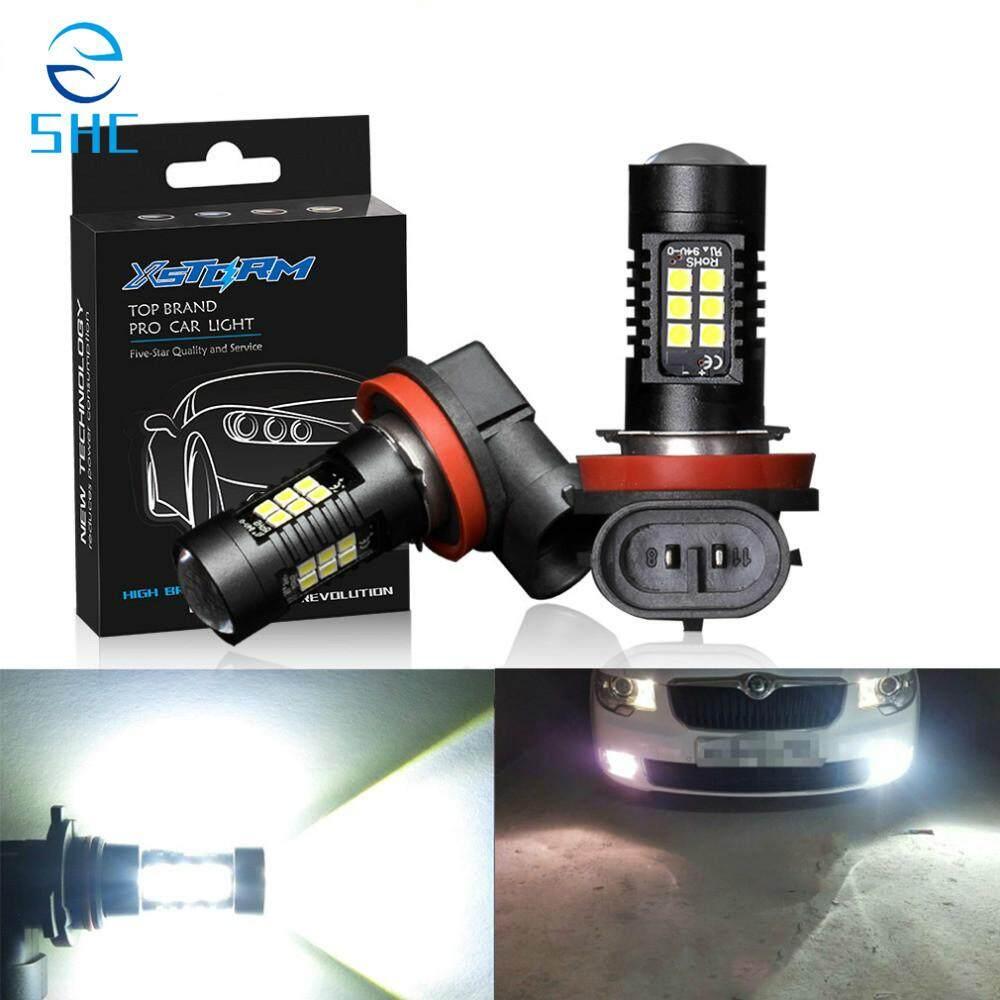 SHC 2 Pcs Bohlam LED HB4 LED. HB3 9006 9005 Lampu SMD 1200LM 6000 K 12 V Putih Mengemudi Menjalankan Lampu Mobil Lampu Otomatis (H7)