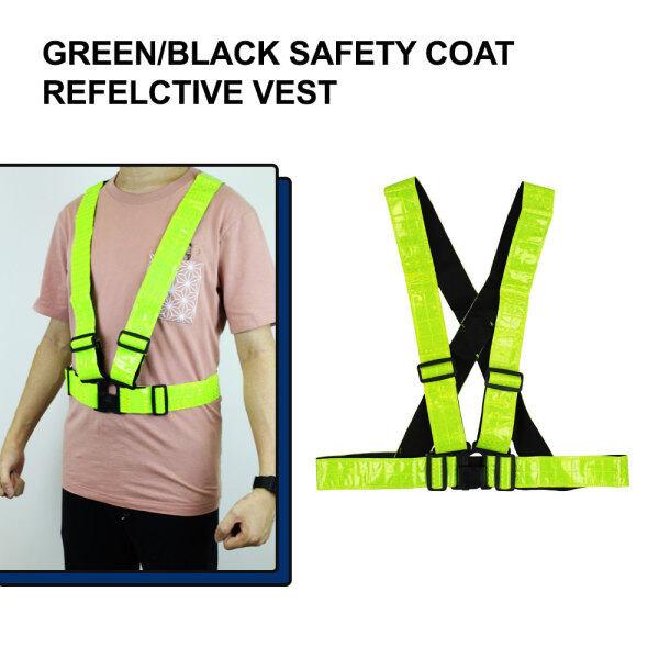 Safety Coat Reflective Vest Heavy Duty Ready Stock Safety Shirt Netting Jaket Keselamatan