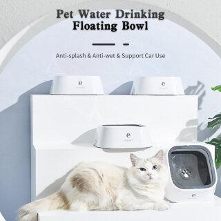 Bát Nổi Uống Nước Cho Chó Cưng, Bát Nước Chống Tràn 1,5L Máy Cấp Nước, Với Đĩa Nổi Cho Chó Mèo Thú Cưng Hỗ Trợ Sử Dụng Xe Hơi thumbnail