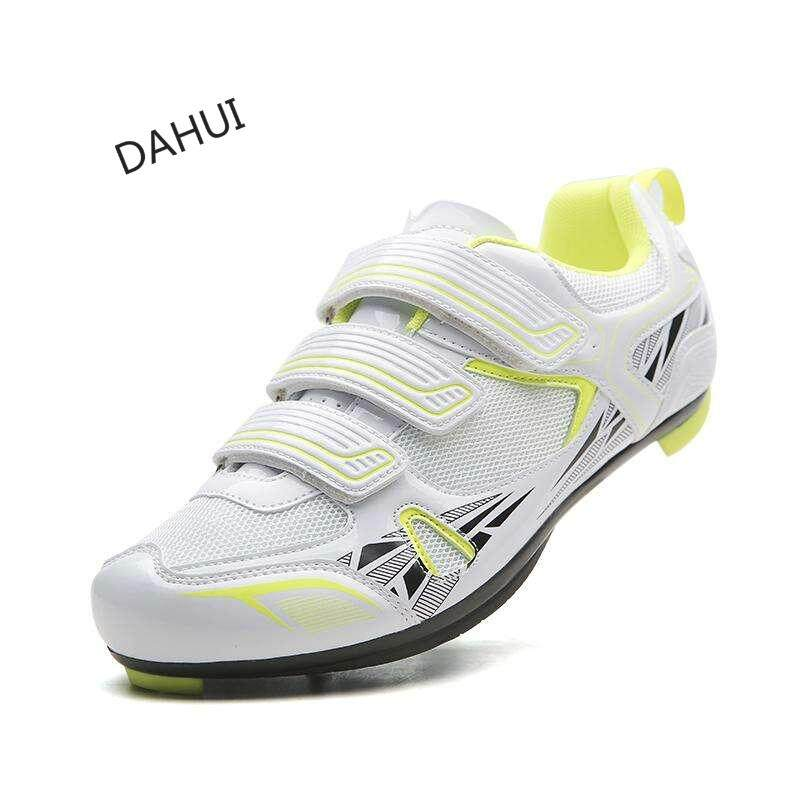81c1894ba1564f Men Outdoor Athletic Racing Road Cycling Shoes Sneakers Bicycle Shoes  (White)