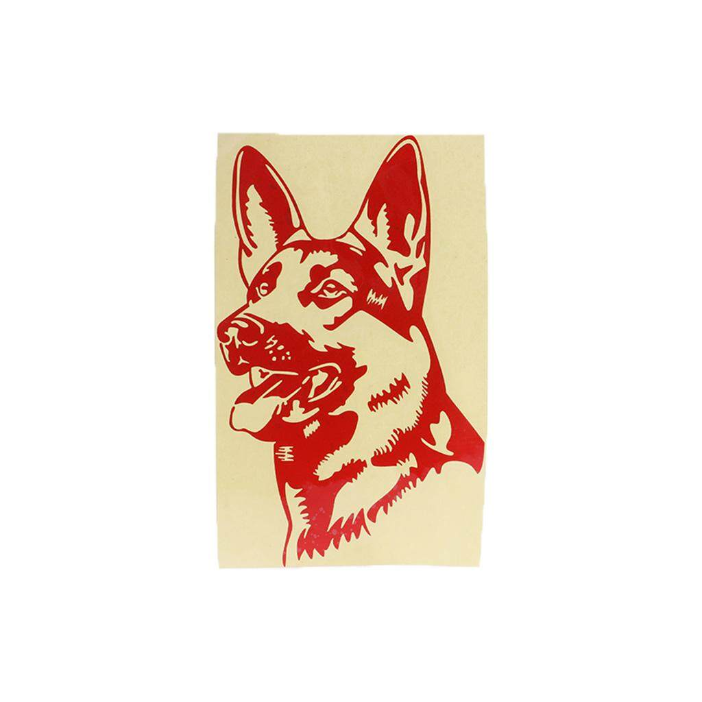 11 6x19cm german shepherd alsation dog car stickers personality decal 2