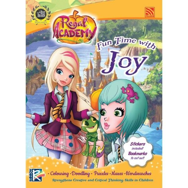 REGAL ACADEMY(WITH STICKERS, COLOUR BOOK) - FUN TIME WITH Joy Pelangi Publishing Malaysia