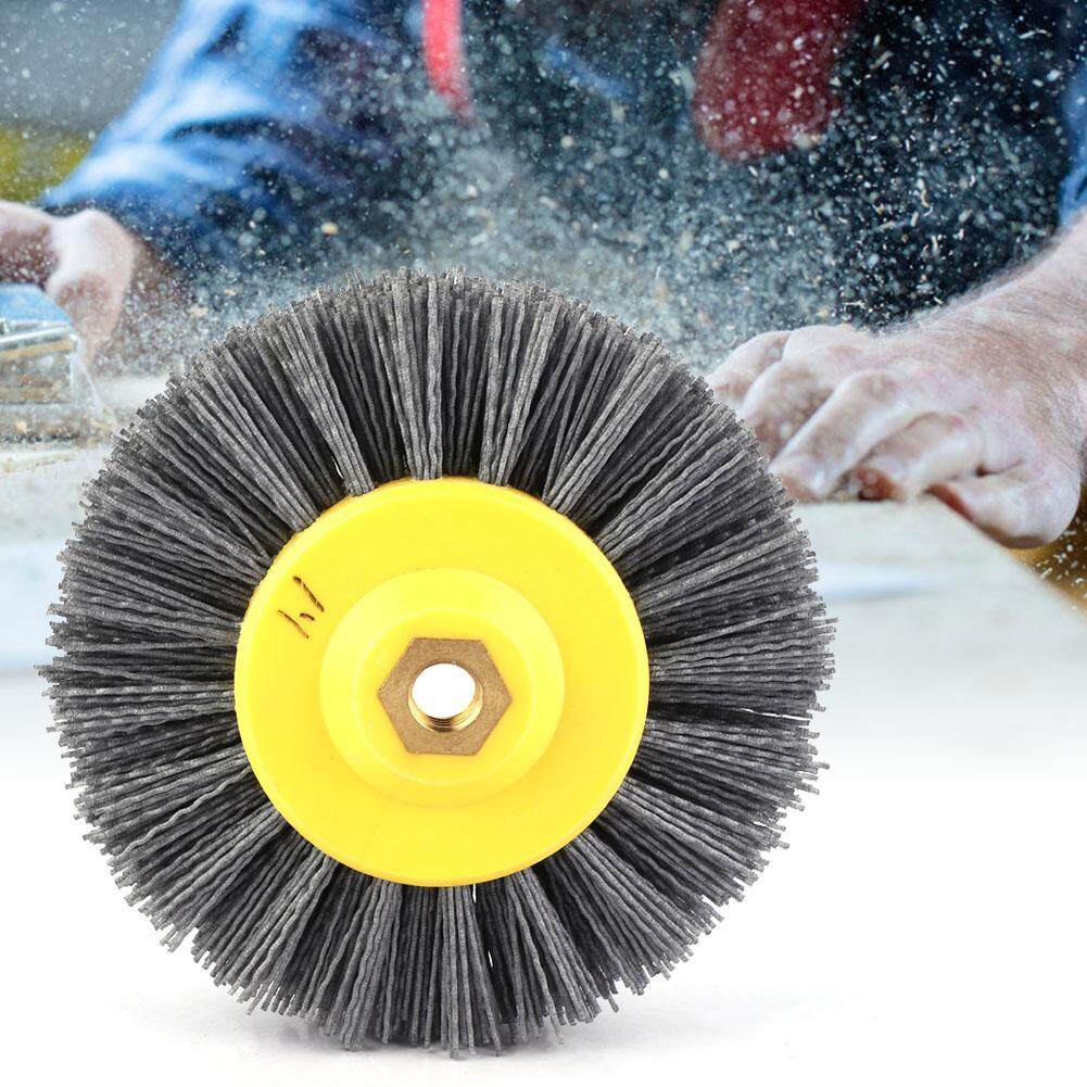 Abrasive Wire Drawing Wheel Brush Polished Head Brush for Antique Stone Wood