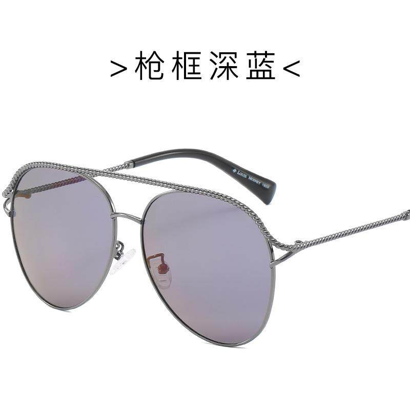 Baru Retro Kacamata Hitam Terpolarisasi 0168 Mengemudi 몫鏶 Kaca Mata Bingkai Logam Kaki Penutup Kacamata