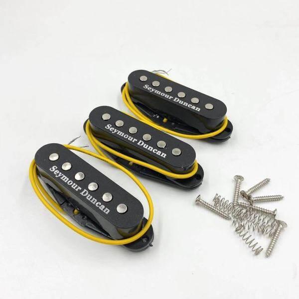 3 Cái/bộ SSL-1 Seymour Duncan RWRP Black Bridge And Neck Alnico Pickup CuộN Đơn Cho Guitar Điện Fender ST