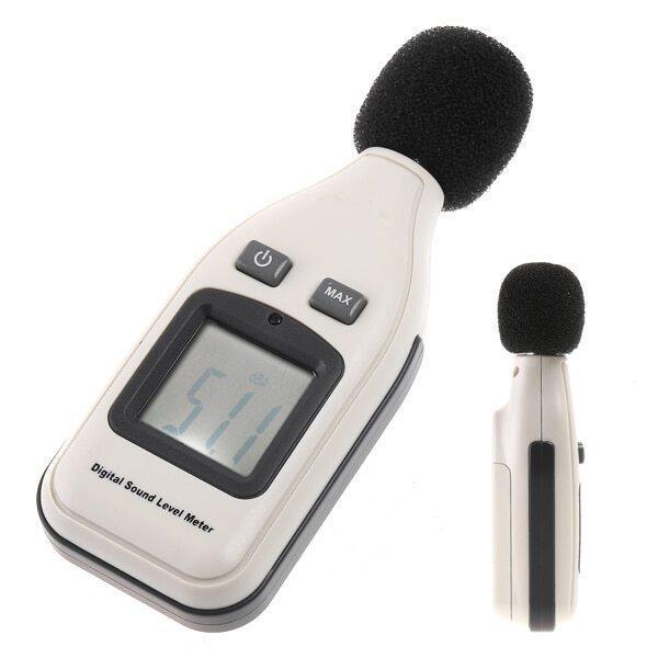 Digital Sound Level Meter Decibel Logger 30-130dB Data Logger Sound Level tester Recorder Noise Analyzer Decibel diagnostic-tool