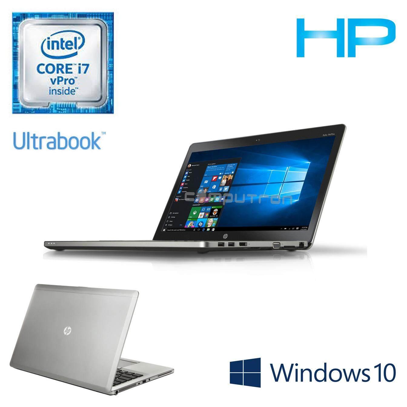 HP ELITEBOOK FOLIO 9480M [CORE I7-4600U/8GBRAM/500GBHD/W10PRO] 1 YEAR WARRANTY Malaysia