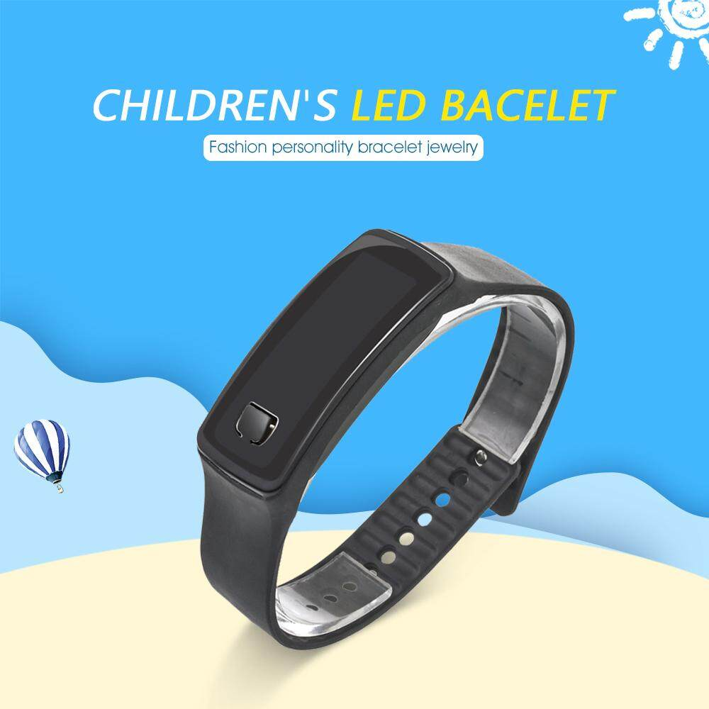 1Pcs Led Silicone Sports Wrist Watch Digital Watches Children Electronic Watch For Student Malaysia