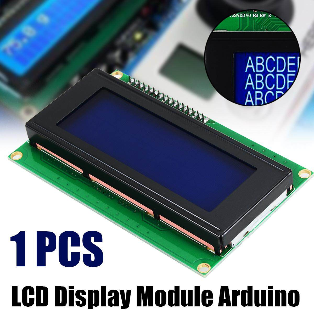 Idealhere Biru Serial IIC/I2C/Twi 2004 20X4 Modul LCD Berkarakter Display UNTUK ARDUINO